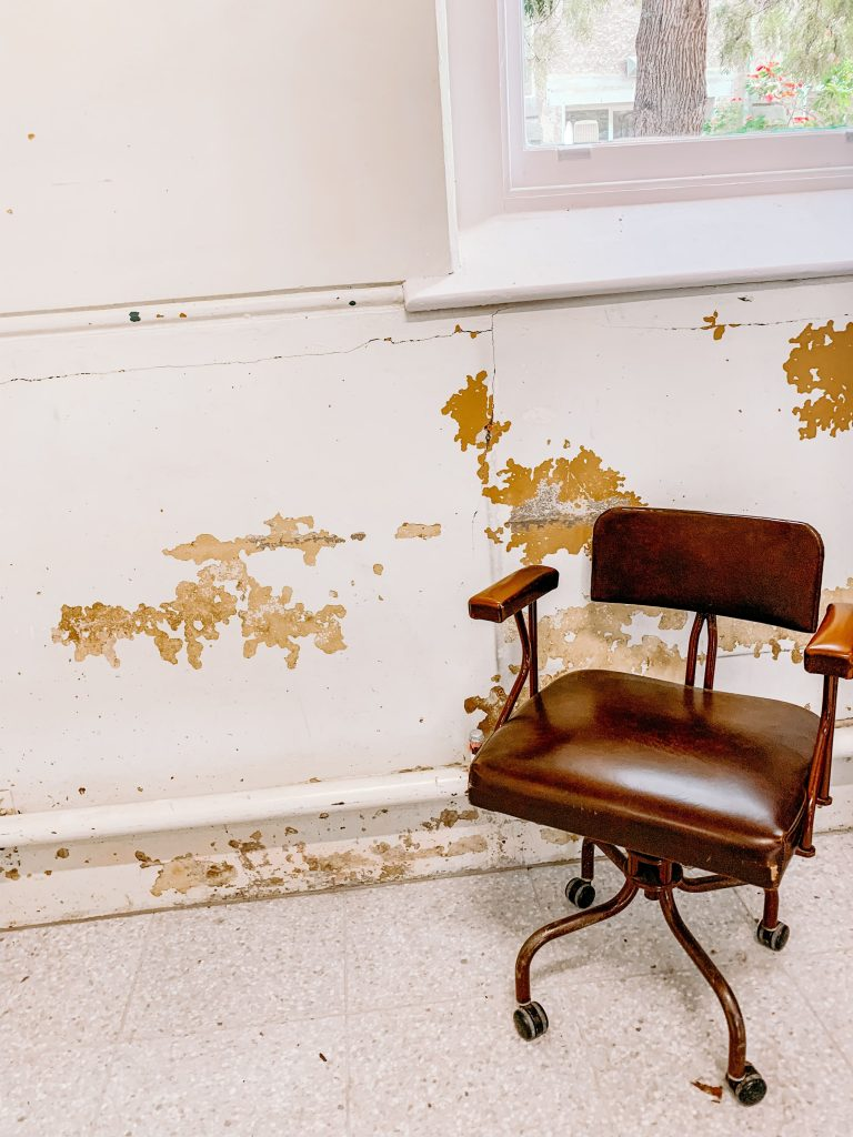 Distressed Office Chair